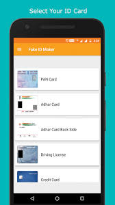 2017 India Download Apkpure co Card Apk 2018 Id Maker For Fake