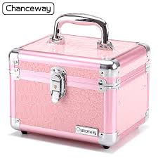 makeup box. get quotations · korean cosmetic box desktop storage nail tool kit professional portable makeup s
