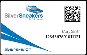 silversneakers member card