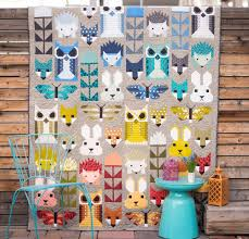 Animal Quilt Patterns Extraordinary Animal Quilt Patterns With A Fun Modern Design Style