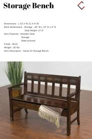 classy home furniture. Sunny Designs Santa Fe Dark Chocolate Storage Bench | The Classy Home Furniture Mall Pinterest Benches, And Sunnies E