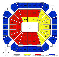Usa Seating Chart Lubbock 42 Unfolded United Supermarkets Arena Map