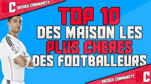 le top 10 des maisons de footballeurs