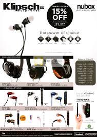 klipsch x10i. comex 2012 price list image brochure of newstead nubox klipsch earphones one s3 s4 s4i. « x10i