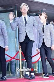 Gaon Chart Kpop Awards 2015 Rap Monster Bangtan Boys Attends The 4th Gaon Chart Kpop