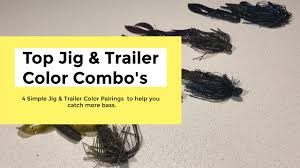 Top Fishing Jig Trailer Color Combos Which Jig Trailer