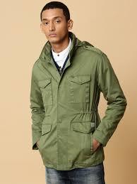 mr bowerbird men olive green 1941 garment dyed field jacket evpnur