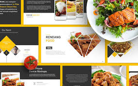 Powerpoint Templates Food Food Presentation Powerpoint Template 67553