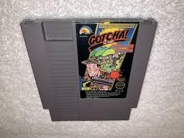 Nes Blinking Light Win Ebay Gotcha Nintendo Nes 1987