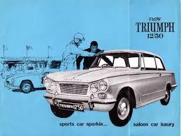 triumph brochure page