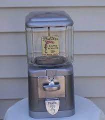 Vintage Peanut Vending Machine Delectable Vintage Oak Acorn 48's 48 Cent Gumball Planters Peanut Vending