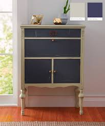 gray furniture paintValspar Chalky Paint Finish