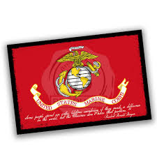Brotherhood Marine Dont Have To Worry If They Make A Difference Marine Flag Ronald Reagan Quote Poster 24x36