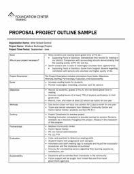 Free 9 Proposal Outline Samples In Pdf Word