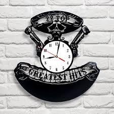 image is loading zztophitsdesignvinylrecordclockwall office clock wall a16 clock
