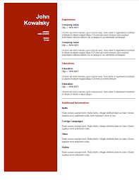 Resume Template Odt Best of Odt Resume Template Commily