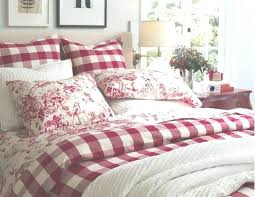 bedroom furniture plaid bedding set for french country s