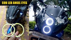 How To Install Angel Eyes In Pulsar 220