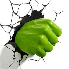3dlightfx Marvel Avengers Hulk Fist 3d Deco Light Marvel Avengers Hulk Fist 3d Deco Light