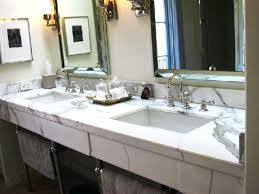 calcutta marble countertops endearing marble vanity contemporary bathroom in calcutta marble laminate worktop