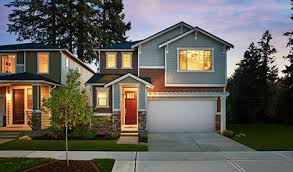 home builders in washington state. Interesting State Exterior Of The Lowell Plan At Dusk In Summer Walk In Home Builders Washington State H