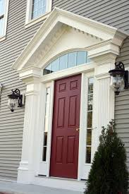 front door trim kitBest 25 Exterior door trim ideas on Pinterest  Red front doors