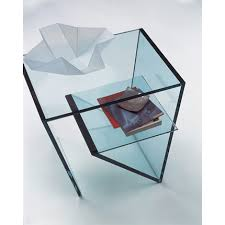 glass side table. Tonelli - Zen Glass Side Table