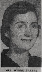 Jennie Bruce Graham Barbre (1920-1963) - Find A Grave Memorial