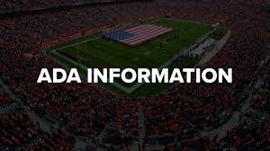 Denver Invesco Field Seating Chart Denver Broncos Ada Information