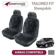 landcruiser 200 series sheepskin seat covers