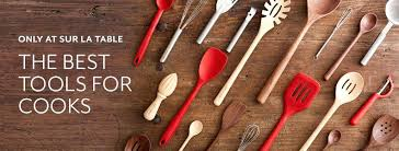 silicone utensils only at la table the best tools for cooks stainless baby spoon made in