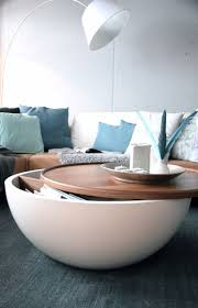 round coffee table with storage stools best ideas on sensational i