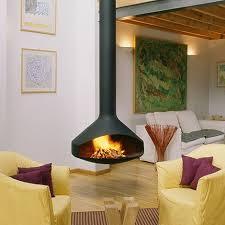 Ergofocus 95 cm (9 coolest ceiling fireplace designs)