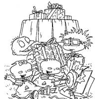 Small Picture Rugrats Coloring Pages Print Rugrats Pictures to Color All
