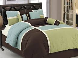 captivating blue and brown twin comforter sets bedding combine 71iiw7wrmvl sl1156