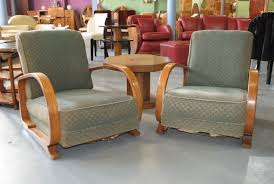 deco style furniture. A Pair Of Art Deco \u0027Easy\u0027 Arm Chairs Produced By Heal \u0026 Son. Style Furniture V