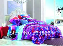 neon bedding sets best college dorm images on sheets blue bed