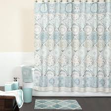 grey patterned shower curtain smlf