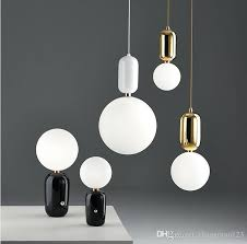 modren led pendant lights for home simple glass ball hanging lamp seeded glass pendant lights colored