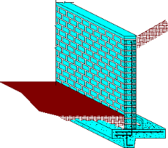 Small Picture The Concrete Retaining Wall Foundation Design Example