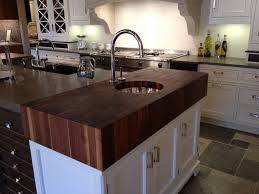 Ikea Wood Countertop Review Kitchen Makes A Beautiful Kitchen Island With Walnut Countertop