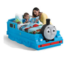 Details about Step2 Thomas The Tank Engine Toddler Bed Bedroom Furniture Kids Friends Crib NEW