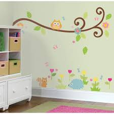 Owl Bedroom Accessories Bedroom Wall Stickers Decorate The Bedroom Wall Stylishomscom