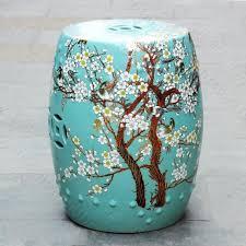 chinese garden stool. Brilliant Chinese China Plum Blossom Painting Ceramic Drum Porcelain Garden Stool Glazed  Chinese And Chinese Garden Stool I