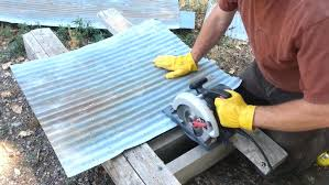 how to cut corrugated metal with a circular saw rug designs cutting sheet steel angle grinder galvanized sheet metal