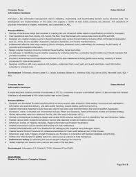Informatica Administration Sample Resume 3 Best Solutions Of