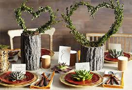 Country Style Table Centerpieces