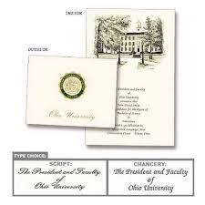 Ohio University Personalized Graduation Announcements