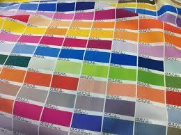 Printing Colour Chart Colour Chart Fabric Pantone Color Chart Pantone Color Fabric