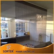 office cubicle curtains. Metal Ball Chain Curtain Room Divider Office Cubicle Curtains For Cubicles